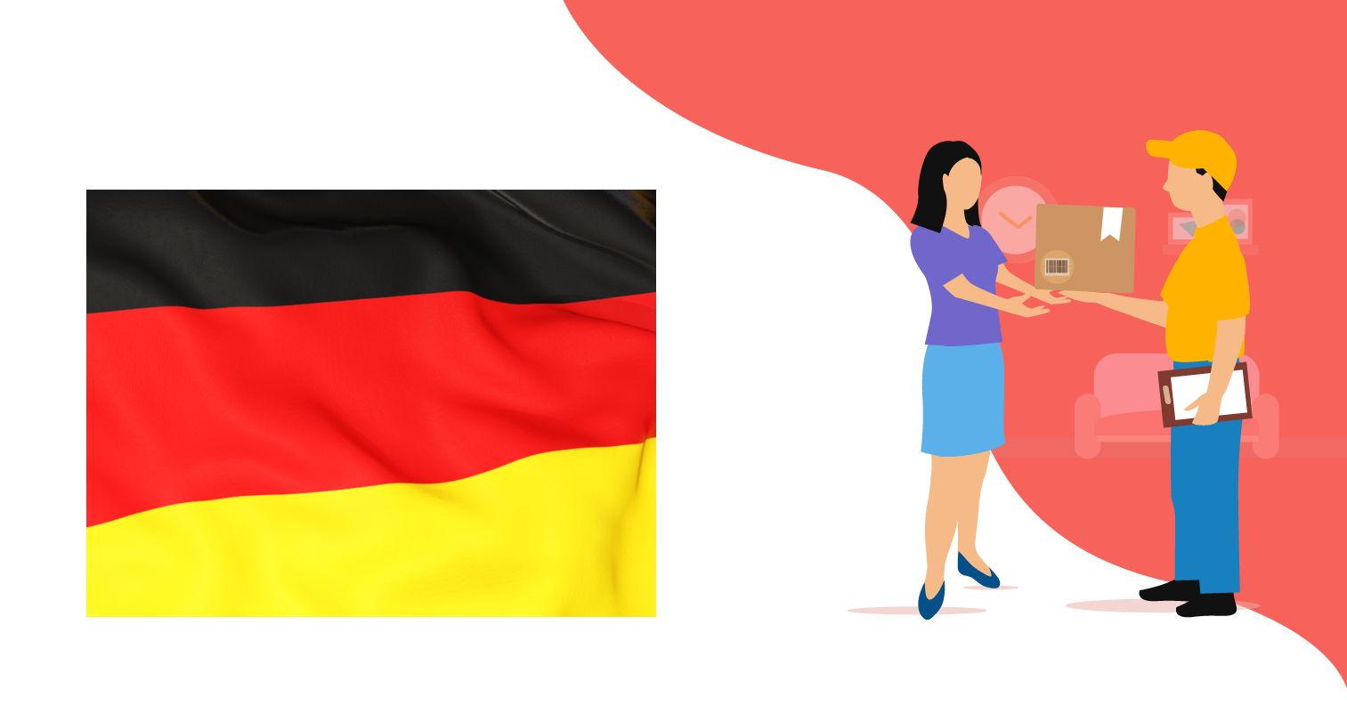 Доставка из Германии